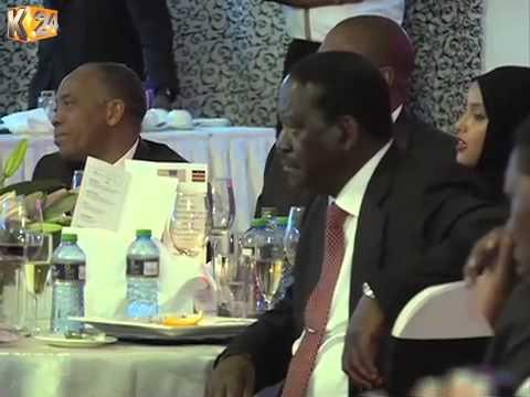President Kenyatta hosts U.S President Barack Obama to a state dinner