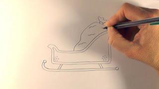 R.E.A.P: How to Draw a Cartoon Santa