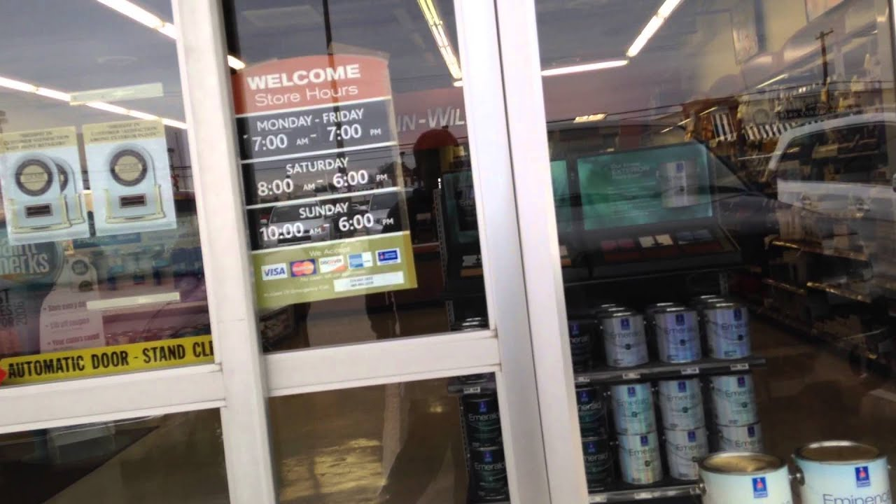 Besam Automatic Sliding Door At Sherwin Williams (Preston Forest) In Dallas TX - YouTube : besam doors - pezcame.com