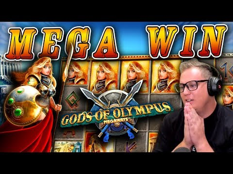 6 Scatters for a MEGA WIN on Gods of Olympus!