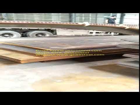 Steel Plate loading