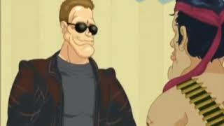 Арни Шварценеггер и Слай Сталлоне   Arnie and Sly 1