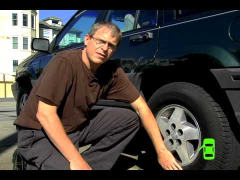 How To Add Air To Your Car S Tires Youtube
