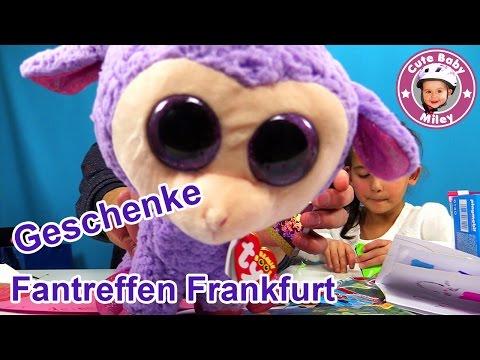 GESCHENKE auspacken | Fangeschenke FRANKFURT | Überraschungen | CuteBabyMiley