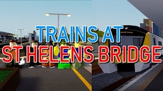 [NEW 1.3.18 UPDATE] Trains at: St Helens Bridge! (Roblox SCR)