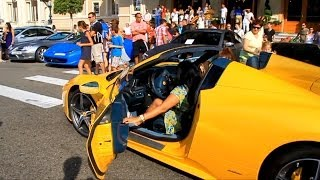 Arab Girls driving Ferrari 458 Italia