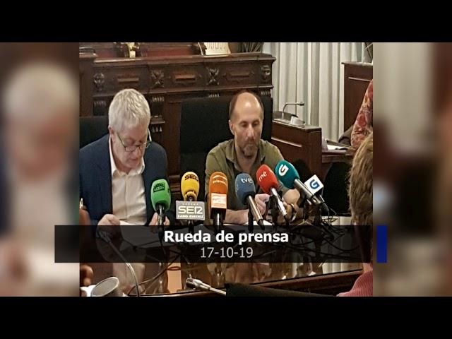 Rueda de Prensa Gonzalo Jácome y Miguel Caride 17/10/19