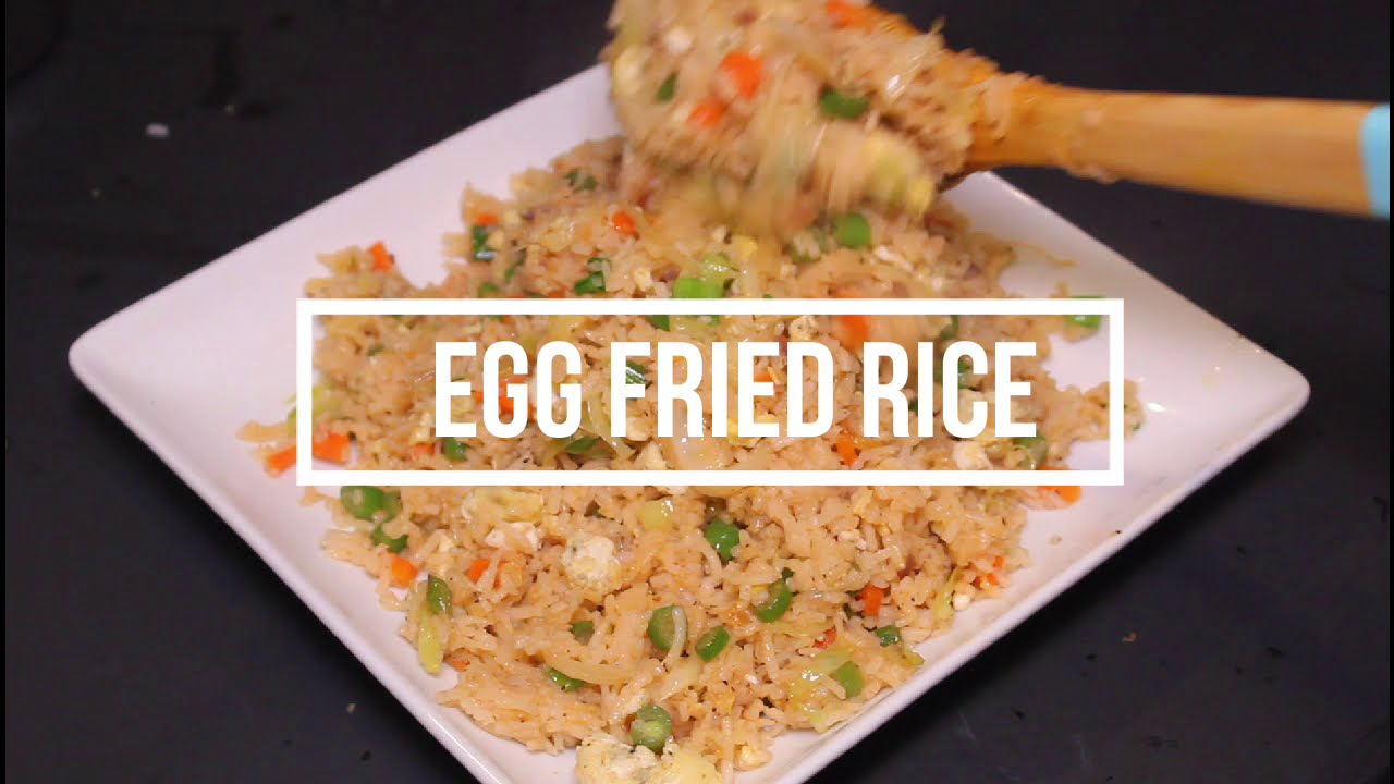 how to prepare egg fried rice indian style