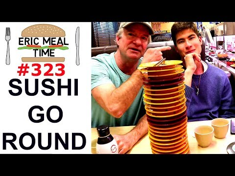 Sushi Go Round Japan - Eric Meal Time #323