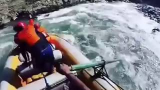 Dangerous River Rafting Near Kullu,India