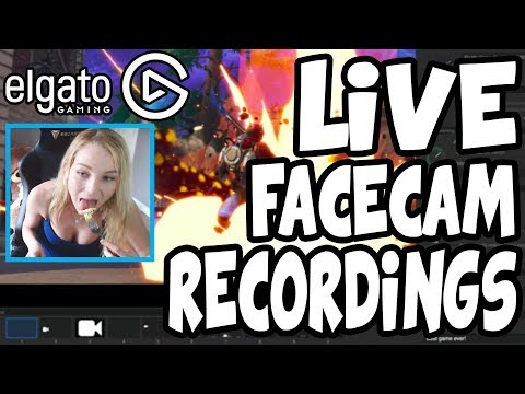 How To Record LIVE FACECAM Using The Elgato Game Capture HD! (Livestream W/ Face Camera)