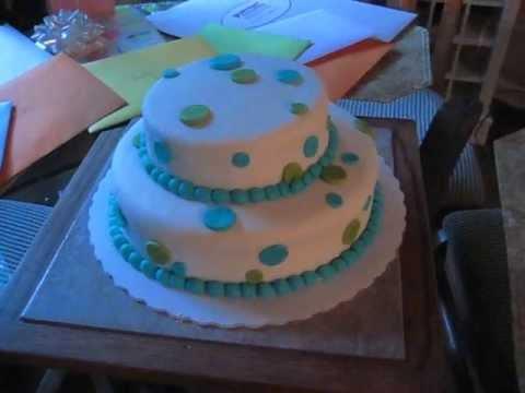 Sweet Sixteen Birthday Cake Romance Polka Dots YouTube