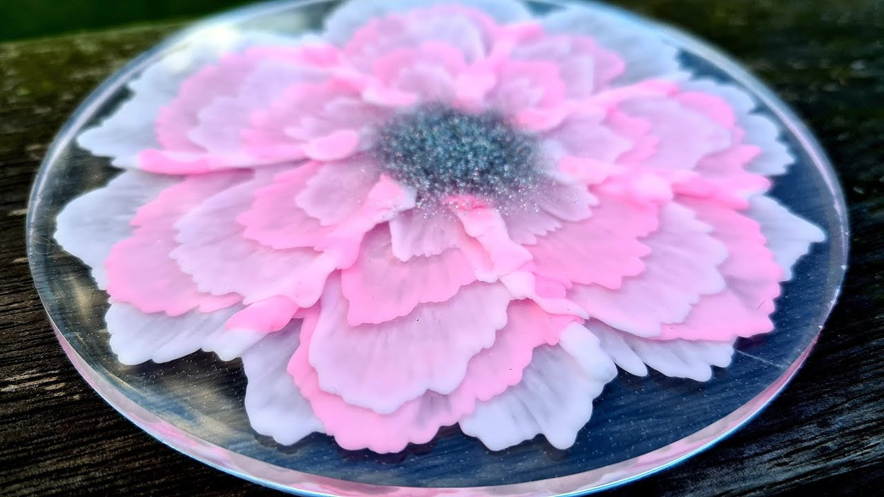 #917 How To Make An Incredible 3D Resin Flower With Layered Petals