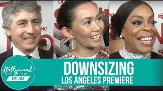 Downsizing Los Angeles Premiere   Hong Chau, Matt Damon, Niecy Nash, and many more!