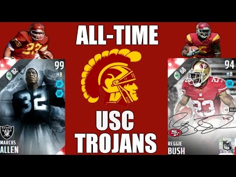 All-Time USC Trojans Team - Marcus Allen and Reggie Bush! - Madden 16 Ultimate Team