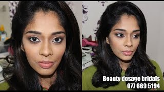 A Subtle Evening Makeover by Beauty Dosage Bridals (Srilanka) Thumbnail