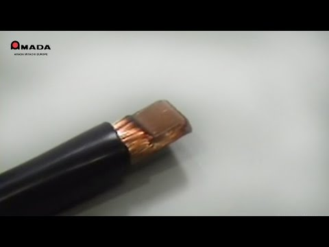 Resistance Welding Compacting For Stranded Tinned Wires - By AMADA WELD TECH