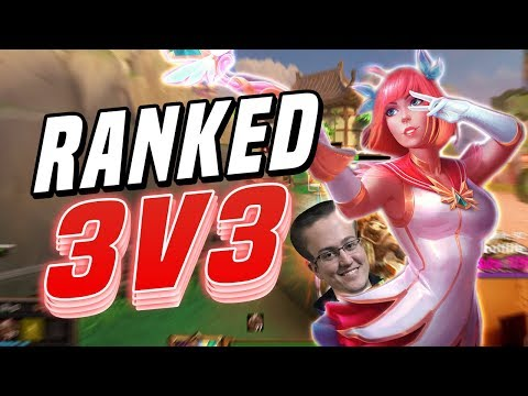 Smite: Ranked 3v3 Joust With Weak3n And Inbowned!