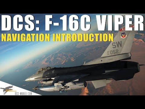 DCS: F-16C Viper – Navigation Introduction