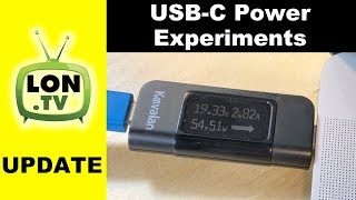 Measuring USB-C Power : Macbook Pro 15 with a 60 Watt USB-C Dock