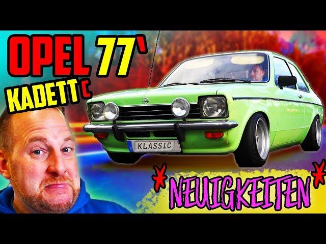 Wir liegen TIEF! - Fahrt im 77' Opel Kadett C - Große Neuigkeiten!