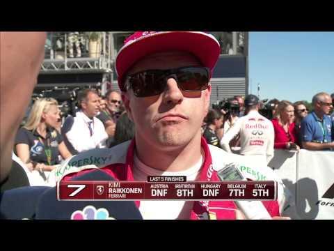 2015 Italy - Post-Race: Raikkonen misses out on Monza podium