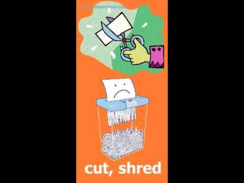 Как запоминать английские словаcut Shred