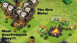 Clash of clans | So Much Success! | Baby drag pushing strategy |