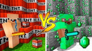 MINECRAFT - NOOB VS PRO: EMERALD ARMOR in Minecraft
