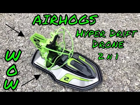 Air Hogs Hyper Drift Drone Review
