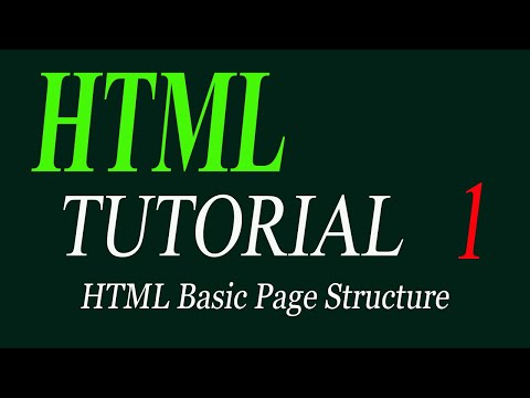 HTML Basic Page Structure |HTML tutorial for beginners in Urdu/Hindi 2019 thumbnail