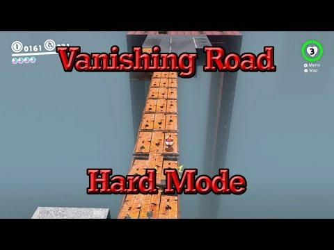 Vanishing Road Hard Mode: Is It Possible? (Super Mario Odyssey)
