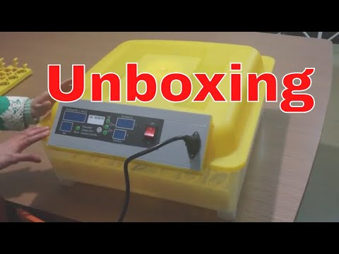 Unboxing 56 Egg Incubator || Automatic egg hatching machine || Best Incubator For chicken quail