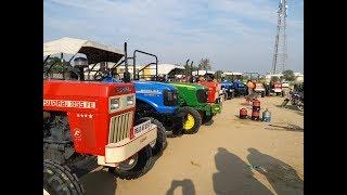 Talwandi Sabo Tractor Mandi(30/01/2019)अगर पुराने ट्रैक्टर लेने हैं तो ये वीडियो जरुर देखें ।।