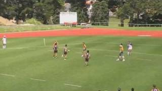 Touch Rugby - Backdoor move