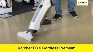 уборочная машина Karcher FC 5 Premium ремонт