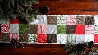 Machine Quilted Binding: Use the Backing as the Binding