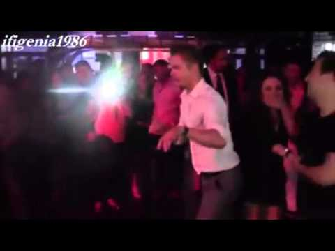 Derek Hough dancing Salsa at Witney Carsons birthday party