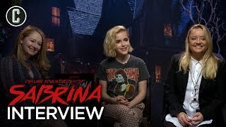 Chilling Adventures of Sabrina Cast Interview