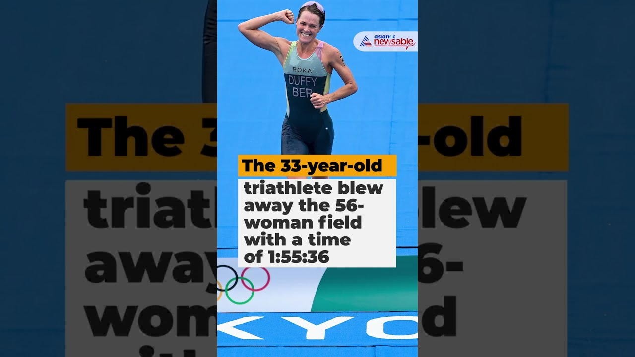 Bermuda becomes smallest country to win gold as Flora Duffy ...