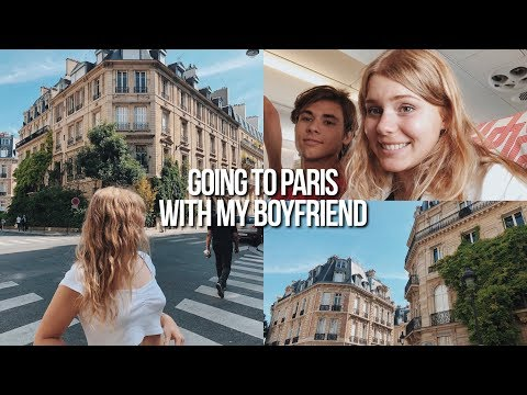 my boyfriend traveled across the world to see me... and we went to PARIS! thumbnail
