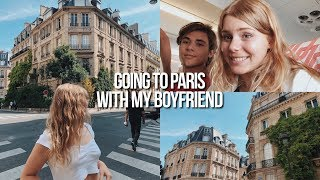 my boyfriend traveled across the world to see me... and we went to PARIS!