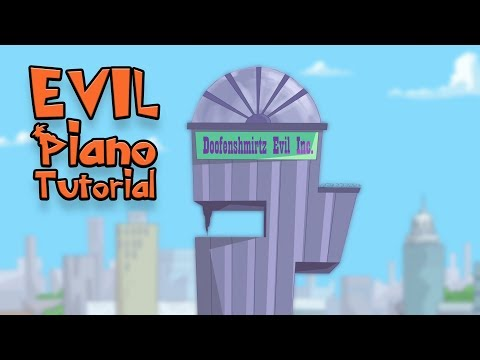 Evil Jingle (from Phineas and Ferb) - Piano Tutorial thumbnail