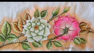 Pintando rosas com Adilson G. Amaral