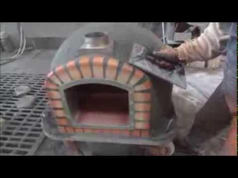 My construction de nos fours en brique - Comment faire griller du pain au four ...