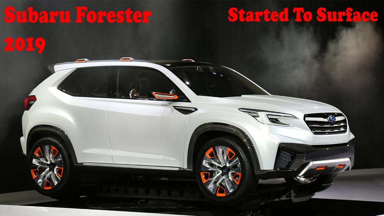 Subaru 2019 Forester >> 2019 Subaru Forester Started To Surface - YouTube