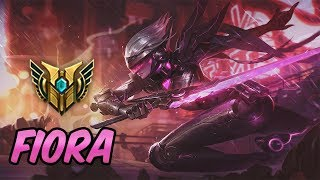 HOW TO PLAY FIORA | New Build & Runes | Diamond Commentary | PROJECT: Fiora | League of Legends