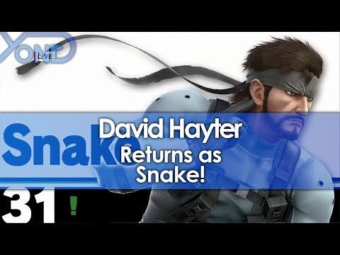David Hayter Returns as Snake!