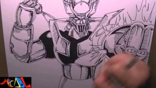 Dibujando a: Mazinger Z
