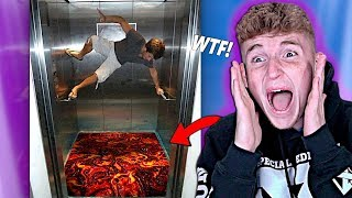 The FUNNIEST Elevator Pranks OF ALL TIME..